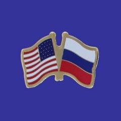 Russia & U.S. Lapel Pin