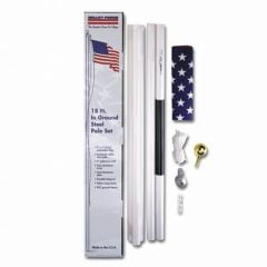 Sectional 18' American Flagpole Kit