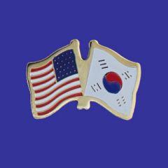 South Korea & U.S. Lapel Pin