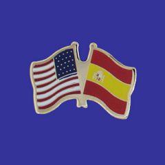 Spain & U.S. Lapel Pin