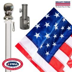 Spinning Flagpole USA Kit - Valley Forge Brand