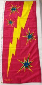 Stars & Lightning Flag