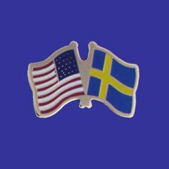Sweden & U.S. Lapel Pin