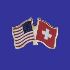 Switzerland & U.S. Lapel Pin