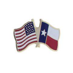 Texas & U.S. Lapel Pin