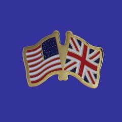 United Kingdom & U.S. Lapel Pin