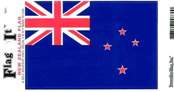 ***NEW ZEALAND VINYL FLAG DECAL STICKER***