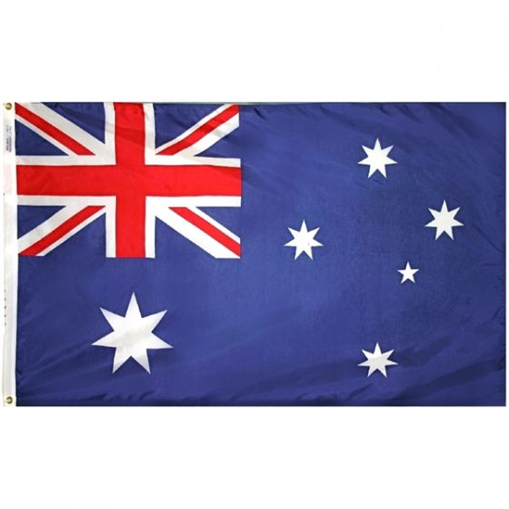 COMMONWEALTH OF AUSTRALIA AUSSIE AUSTRALIAN FLAG Sew on Patch Free Shipping