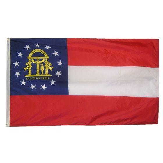 3rd Battalion Cav SC Indoor Outdoor Historical Dyed Nylon Flag Grommet 3/' X 3/'