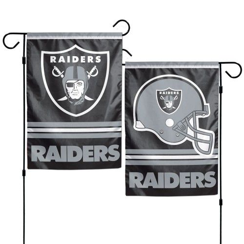 Oakland Raiders Flags Banners And Decals From Flags Unlimited Us Flags