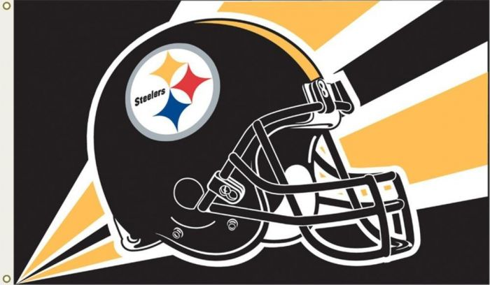 Pittsburgh Steelers Helmet Flag From Flags Unlimited Us Flags